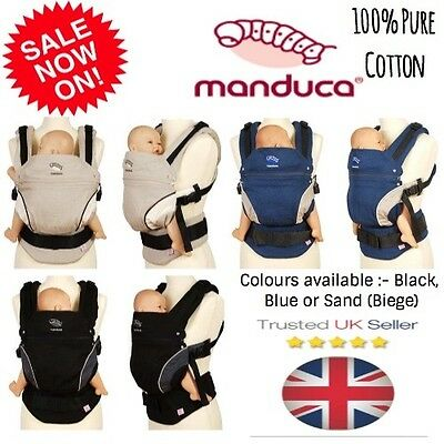 Manduca Baby Carrier Front Back Hip - Brand New With Box - German Brand