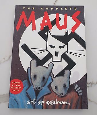 The Complete Maus by Art Spiegelman Paperback Book
