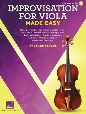 Easy Improvisation for Trumpet Instrumental Book and Audio NEW 000236551