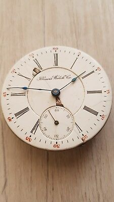 antique repeater pocket watch movement