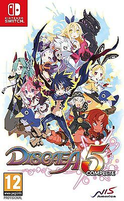 Disgaea 5 Complete (Switch)  BRAND NEW AND SEALED - IN STOCK - QUICK DISPATCH