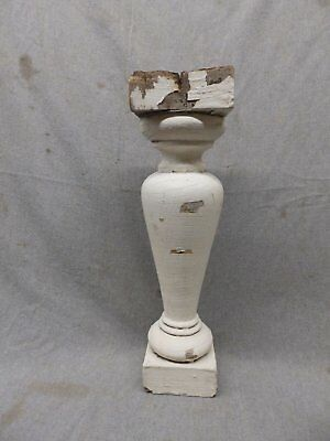 1 Antique Large Architectural Porch Baluster Shabby Spindle Chic Vtg 472-17P