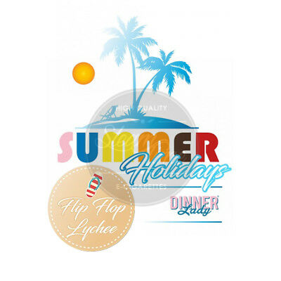 Flip Flop Lychee by Dinner Lady Summer Holidays e Liquid 60ml eZigarette eLiquid