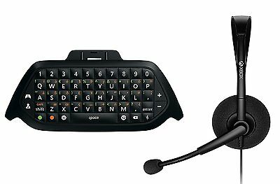 OFFICIAL Xbox One Chatpad with Chat Headset