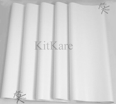 """Seconds 10 sheets Acid Free White Tissue Paper, 45 x 70cm 18 x 28"""" More in Store"""