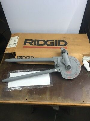 "New Ridgid 358 Tube Pipe Bender Geared Ratchet 5/8"" Tube 35170"
