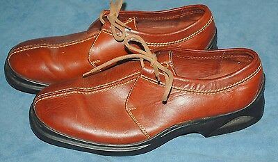 Cole Haan Men's Brown Leather Nike Air Shoes SIZE 10