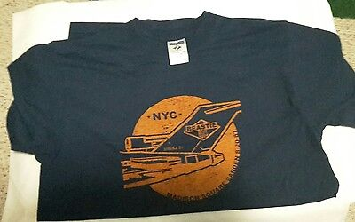 Beastie Boys T- Shirt Vintage Hip Hop Medium 80's Navy Blue, Rare
