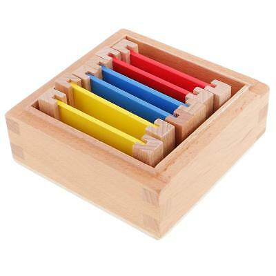 Kids Children Educational Toy - Montessori Wooden Color Box Small Xmas Gift