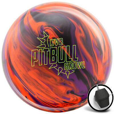 Bowling Ball DV8 Pitbull Growl 12-16 lbs Reactive Strikeball Reaktiv