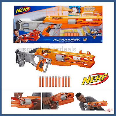 Nerf N-Strike Elite AccuStrike Series AlphaHawk NEW & FREEPOST