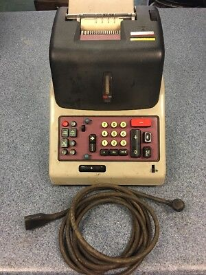 Underwood Olivetti Divisumma 24 Calculator - Sold As-Is for Parts or Repair