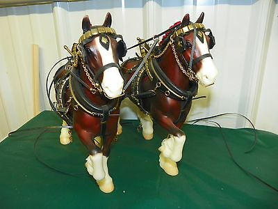 Team #9740 BLOOD BAY Peter Stone Clydesdale Trotting Drafter Horses Harness Tack