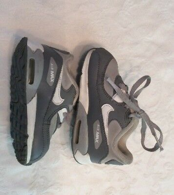 Toddle Nike Air Max Shoes, Gray Size 6 C