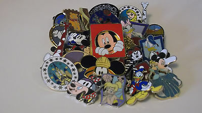 Disney Trading Pins_40 Pin Lot_No Doubles_Free Shipping_Misc. Selection_A29