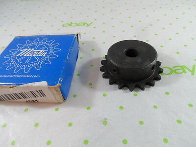 "Martin 35BS18 1/2 Sprocket 3/8"" Pitch x 18 Tooth x 1/2"" Bore Type B Hub"
