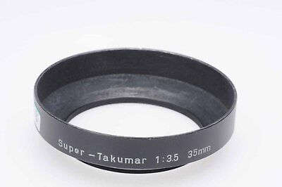 Pentax Lens Hood Shade for 35mm f3.5 Super Takumar 49mm                     #979