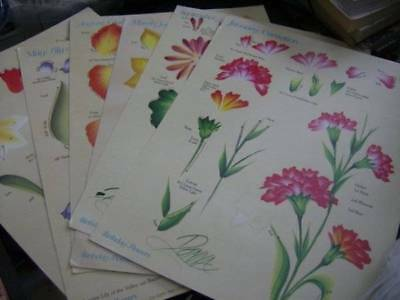Donna Dewberry Birthday Flowers & Seasonal Flowers Painting Teaching Guides