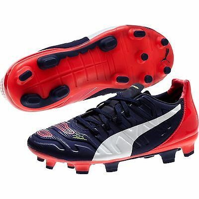 91cfeed37 Puma Jr EvoPower 1.2 Firm Ground Soccer Shoes - Cleats 103422-01 $100