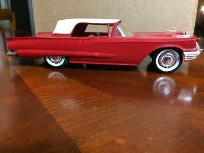 1959 Ford Thunderbird Dealer Promotional Model Friction rare vintage toy