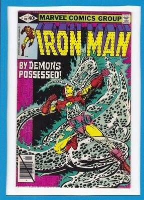 Invincible Iron Man #130_Jan 1980_Fine/very Fine_By Demons Possessed!