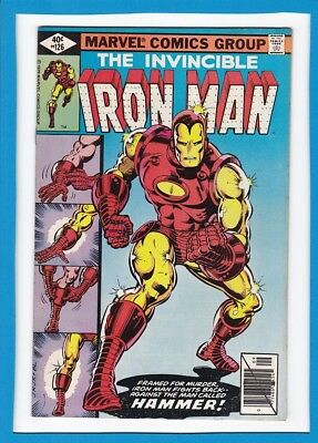 Invincible Iron Man #126_September 1979_Very Fine Minus_Classic Cover!