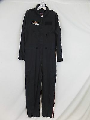 Gibson & Barnes Leisure Jumpsuit One Piece Mens Coveralls Black Size 44R 40x30