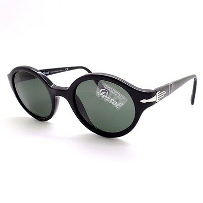 2d672580aebe PERSOL 3098 S 95/31 Black Green New Authentic Sunglasses rl817 ...