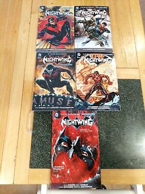DC Nightwing New 52 Trade Paperback Lot 1-5