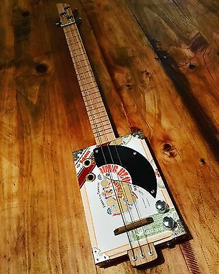 Cigar Box Guitar By Birdwood Guitars