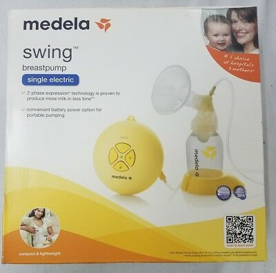 Medela Swing Single Electric Breast Pump *NEW FREE SHIPPING*