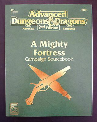 NEW AD&D - A Mighty Fortress Campaign Sourcebook TSR