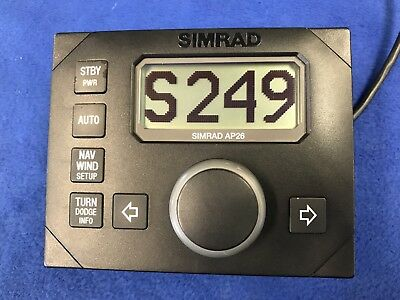 Simrad AP26 Autopilot Control Unit For AC10/20/40 Systems; 90 Day Warranty