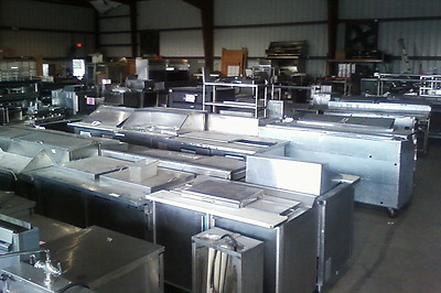 Closed Restaurant Package Deal  4 Walk In Coolers Exhaust Hood System