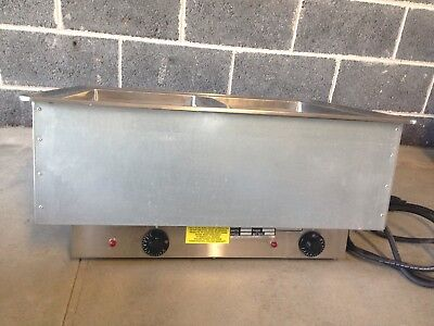 Atlas Stainless Steel 2 Well Commercial Food Warmer WIH-2  Multiple available.