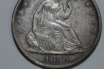 One 1850-O Liberty Seated Half Dollar that Grades Extra Fine++ (Stock #: SLH361)