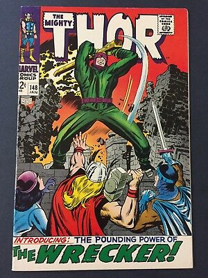 The Mighty Thor #148 (1968) Vf/nm Very Nice Copy!!