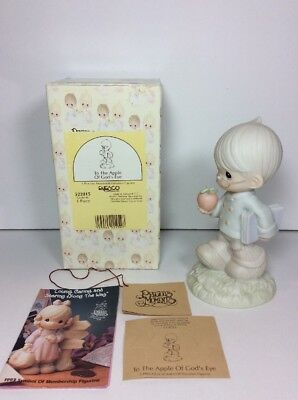 NEW 1993 PRECIOUS MOMENTS TO THE APPLE OF GOD'S EYE Gift For Teacher 522015 NOS