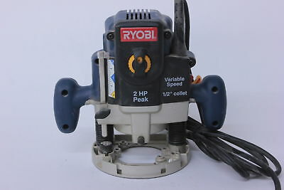Ryobi RE180PL1 Plunge Base 2HP 10 Amp Corded Variable Speed Router