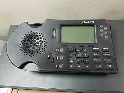 Lot of 11 Shoretel 530 560 Business Office IP VoIP Telephone LCD Display Black