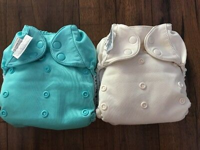 Bumgenius Free time Cloth Diaper Lot Of 2 All In One AIO