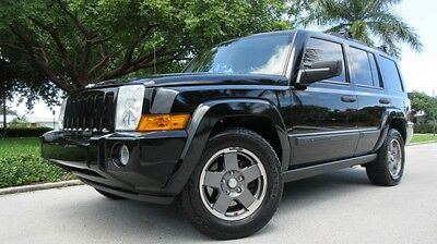 2006 Jeep Commander 4DR 2006 JEEP COMMANDER, 3RD ROW SEAT, HEATED LEATHER, SUNROOF, LOW MILEAGE FL CAR!!