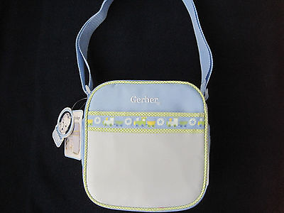 Gerber Mini-Cooler Fridge To Go Baby Gift Travel Tote Food Tote Boy Blue  Nwt