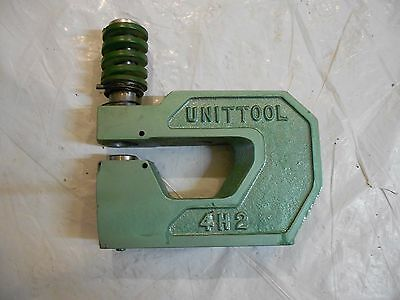 Unittool  Unipunch 4H2 Heavy Duty C-Frame Punch Tool