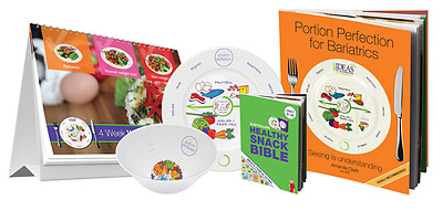 Complete Portion Perfection Bariatric Kit (Melamine)