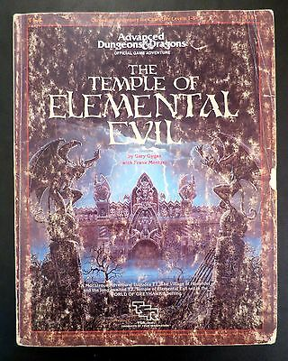 Temple of Elemental Evil Advanced Dungeons & Dragons TSR