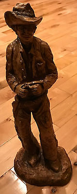 Cowboy Figure With Pistol  17 Inches