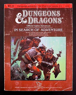 B1-9 In Search of Adventure Dungeons & Dragons TSR