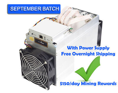 Bitmain Antminer D3 with Power Supply [September Batch]
