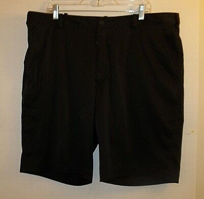 Nike Dri Fit Shorts Athletic Running Tennis Sports 40W Black Polyester Lined 5